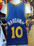 Vintage #10 TIM HARDAWAY Golden State Warriors NBA Champion Jersey 36 - #XL3VintageClothing