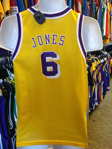 Vintage #6 EDDIE JONES Los Angeles Lakers NBA Champion Jersey 14-16 - #XL3VintageClothing