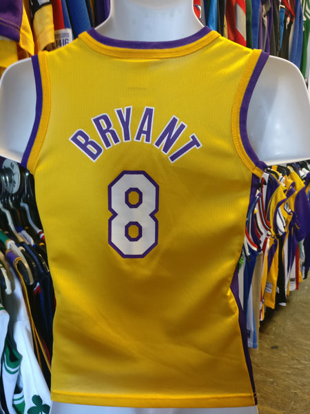 149a09600a66 Vintage  8 KOBE BRYANT Los Angeles Lakers NBA Champion Jersey 6-8 ...