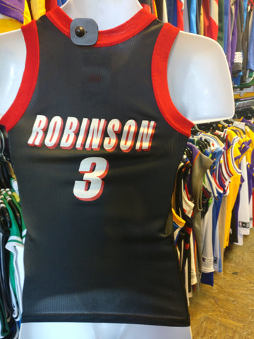 Vtg #3 CLIFF ROBINSON Portland Trailblazers NBA Champion Jersey 10-12 - #XL3VintageClothing