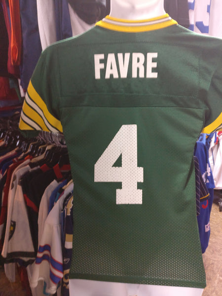 Vintage #4 BRETT FAVRE Green Bay Packers NFL Champion Jersey 6-8 - #XL3VintageClothing