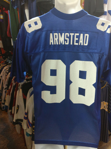Vintage #98 JESSIE ARMSTEAD New York Giants NFL Nike Jersey YL - #XL3VintageClothing