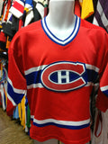 Vintage MONTREAL CANADIANS NHL Starter Jersey YL/YXL - #XL3VintageClothing
