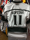 Vintage #11 ANZE KOPITAR Los Angeles Kings NHL Reebok Jersey YS/YM - #XL3VintageClothing