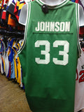 Vtg'76-'79 #33 M JOHNSON Michigan State NCAA Hardwood Legends Jersey4XL - #XL3VintageClothing