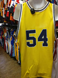 Vtg #54 TRACTOR TRAYLOR Michigan Wolverines NCAA Champion Jersey 52 - #XL3VintageClothing