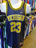 Vintage #23 MICHIGAN WOLVERINES NCAA Nike Jersey S - #XL3VintageClothing