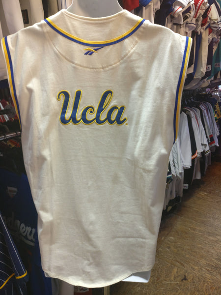 Vintage UCLA BRUINS NCAA Back Patch Reebok Jersey M - #XL3VintageClothing