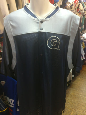 Vintage 90s GEORGETOWN HOYAS NCAA Starter Jersey L (Deadstock) - #XL3VintageClothing