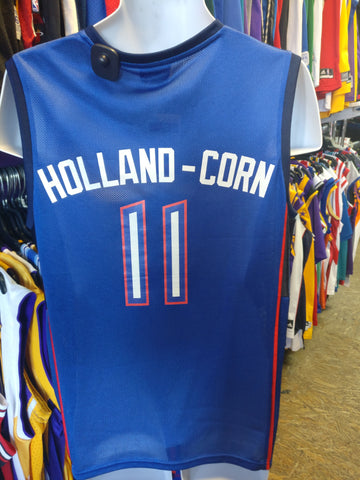 Vintage #11 KEDRA HOLLAND-CORN Detroit Shock WNBA Champion Jersey M - #XL3VintageClothing