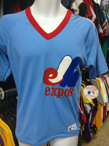 Vintage 80s MONTREAL EXPOS MLB Rawlings T-Shirt S (Deadstock) - #XL3VintageClothing
