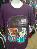 Vintage 90s ANAHEIM MIGHTY DUCKS NHL T-Shirt XL (Deadstock) - #XL3VintageClothing
