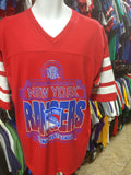 Vintage90s NEW YORK RANGERS NHL T-Shirt XL - #XL3VintageClothing