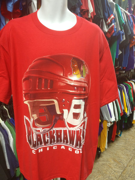Vintage 90s CHICAGO BLACKHAWKS NHL T-Shirt M (Deadstock) - #XL3VintageClothing