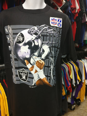 Vintage '96 OAKLAND RAIDERS NHL T-Shirt L (Deadstock) - #XL3VintageClothing