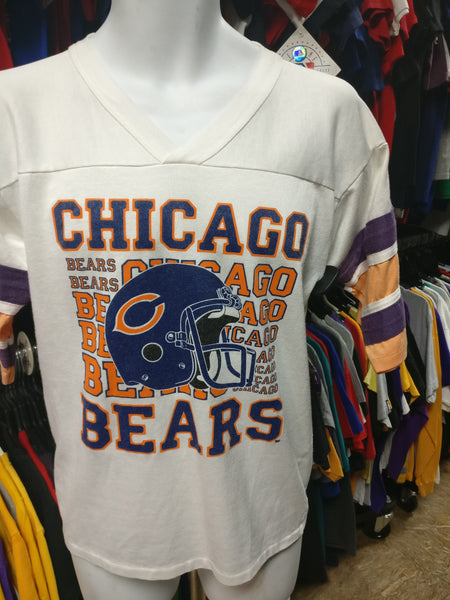 Vintage 80s CHICAGO BEARS NFL T-Shirt M - #XL3VintageClothing