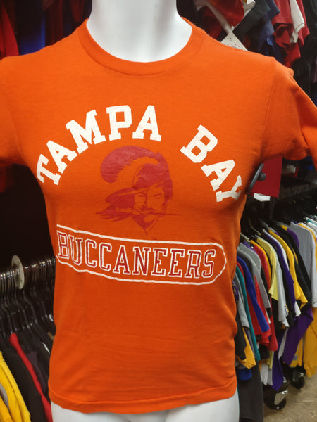 Vintage 70s TAMPA BAY BUCCANEERS NFL T-Shirt XS - #XL3VintageClothing