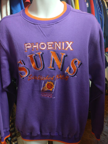 Vintage 90s PHOENIX SUNS NBA Logo Athletic Sweatshirt M - #XL3VintageClothing
