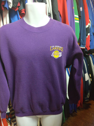 Vintage 90s LOS ANGELES LAKERS NBA Sweatshirt M - #XL3VintageClothing