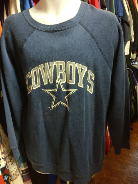 Vintage 80s DALLAS COWBOYS NFL Champion Sweatshirt XL - #XL3VintageClothing