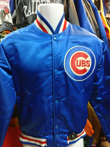 Vintage 80s CHICAGO CUBS MLB Starter Nylon Jacket S - #XL3VintageClothing