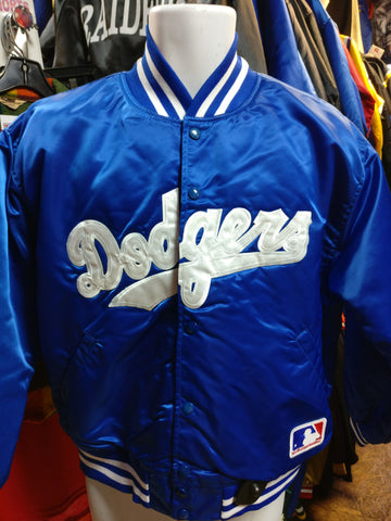 Vintage 90s LOS ANGELES DODGERS MLB FELCO Nylon Jacket L (Mint) - #XL3VintageClothing