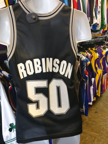 Vintage #50 DAVID ROBINSON San Antonio Spurs NBA Champion Jersey 36 - #XL3VintageClothing