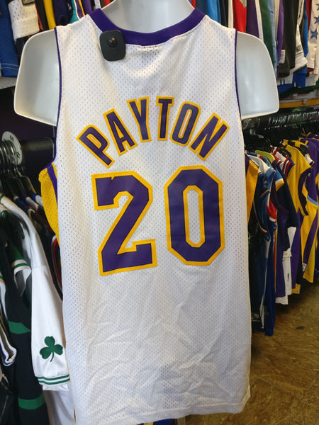 Vintage #20 GARY PAYTON Los Angeles Lakers NBA Nike Jersey M - #XL3VintageClothing