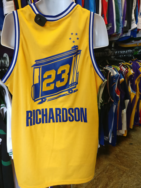 the latest 2aadb 67e72 Vtg #23 JASON RICHARDSON G. S. Warriors NBA Reebok Authentic Jersey 48