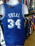 Vintage #34 SHAQUILLE O'NEAL Los Angeles Lakers NBA Nike Jersey YXL - #XL3VintageClothing