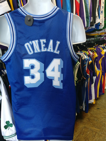 f9eff6aece6 Vintage #34 SHAQUILLE O'NEAL Los Angeles Lakers NBA Nike Jersey YXL - #