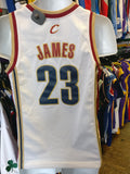 Vintage #23 LEBRON JAMES Cleveland Cavaliers NBA Nike Jersey YM - #XL3VintageClothing