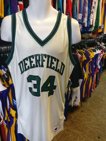 Vintage #34 DEERFIELD High School Champion Jersey 44