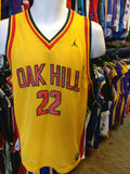 Vtg '02 #22 CARMELO ANTHONY Oak Hill High School Jordan Jersey YXL
