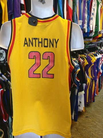 159e1d8de431 Vtg  02  22 CARMELO ANTHONY Oak Hill High School Jordan Jersey YXL