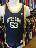 Vtg#53 PAT GARRITI NOTRE DAME FIGHTIN' IRISH NCAA Champion Jersey14-16
