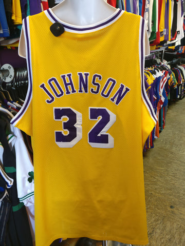 Vtg '79 #32 MAGIC JOHNSON Los Angeles Lakers Mitchell & Ness Jersey 60