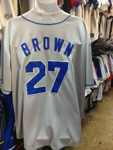 Vtg #27 KEVIN BROWN Los Angeles Dodgers MLB Mitchell & Ness Jersey XL