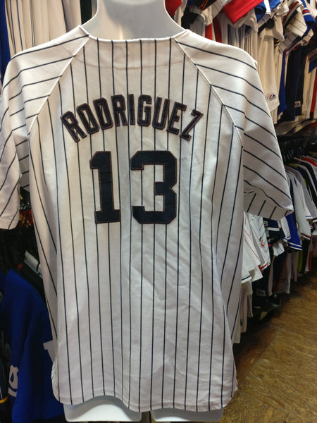 Vintage #13 ALEX RODRIGUEZ New York Yankees MLB Majestic Jersey 18-20