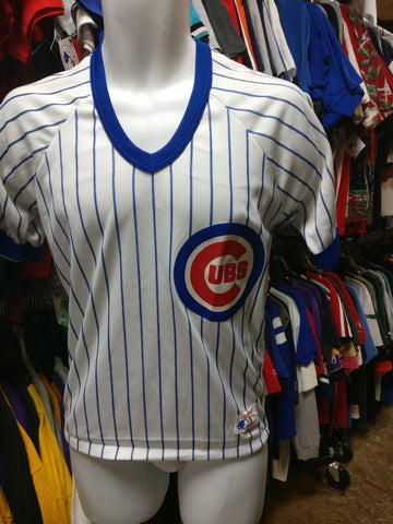 Vintage 80s CHICAGO CUBS MLB Rawlings T-Shirt S (Deadstock)