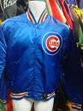 Vintage 80s CHICAGO CUBS MLB Starter Nylon Jacket M