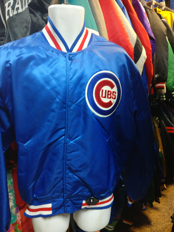 Vintage 90s CHICAGO CUBS MLB Starter Nylon Jacket XL (Mint)