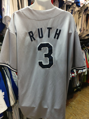 Vintage #3 BABE RUTH New York Yankees MLB Mitchell & Ness Jersey 4XL