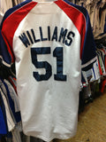 Vintage #51 BERNIE WILLIAMS New York Yankees MLB Majestic Jersey M