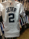 Vtg#2 DEREK JETER New York Yankees Authentic Russell Athletic Jersey40