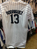 Vintage #13 ALEX RODRIGUEZ New York Yankees MLB Majestic Jersey YXL