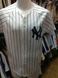 Vintage #46 ANDY PETTITTE New York Yankees MLB Majestic Jersey YL