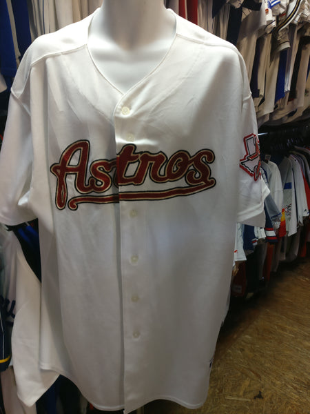 newest 0861e 3665c Vintage HOUSTON ASTROS MLB Majestic Authentic Jersey 56