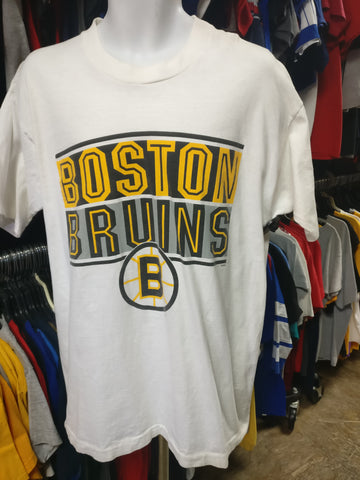 Vintage 90s BOSTON BRUINS NHL Salem Sportswear T-Shirt L