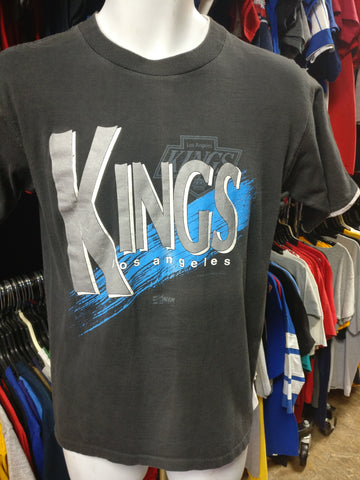 Vintage '90 LOS ANGELES KINGS NHL Salem Sportswear T-Shirt M